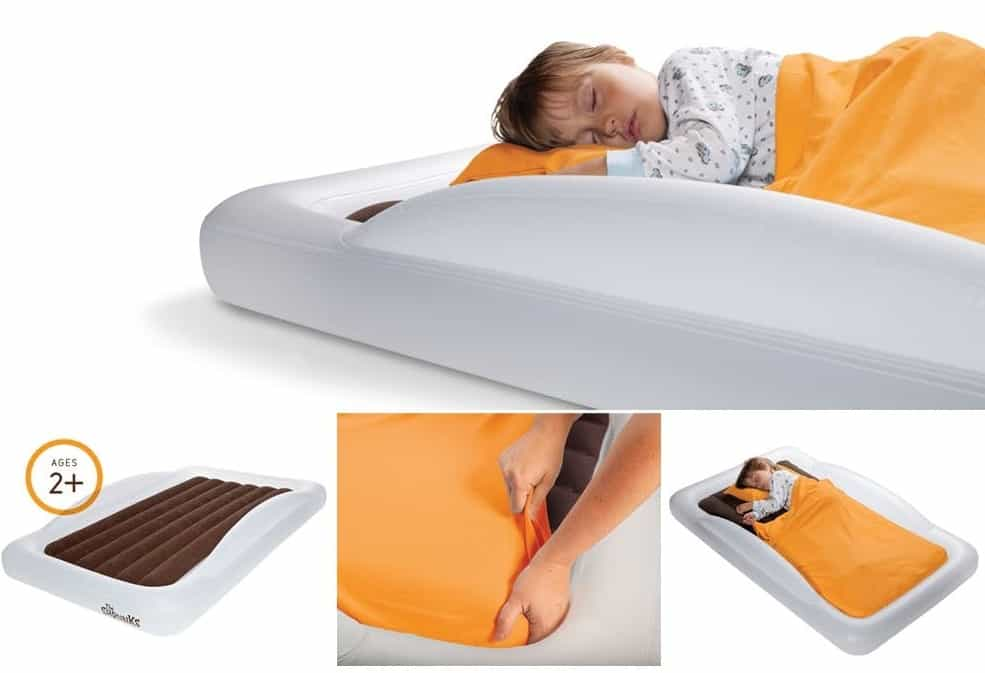 Double Canopy Sleeping Bed Pad Baby Infant Lightweight Versatile Comfortable Cut
