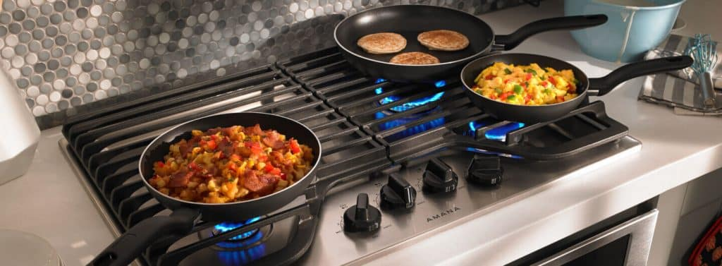 "5 Best 30"" Gas Cooktops with Downdraft – Enjoy smokeless cooking"