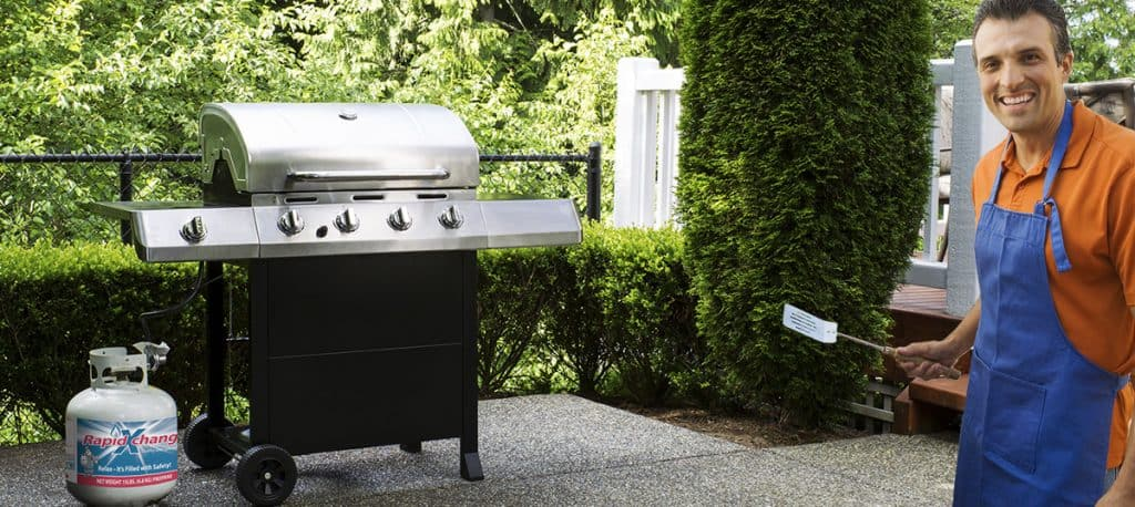 best gas grills under 500 review