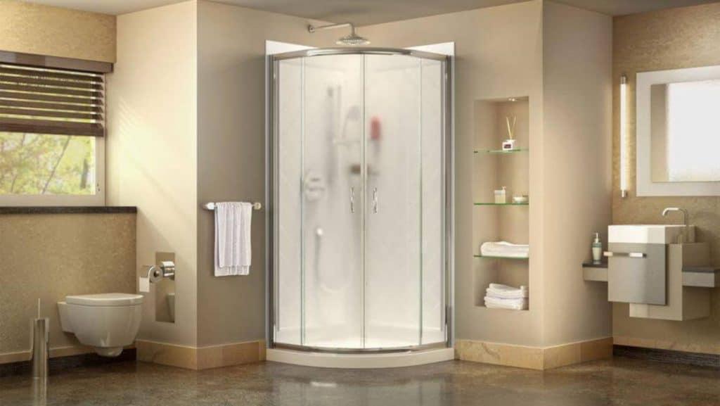 DreamLine DL-6703-01FR Prime Shower Enclosure And Base