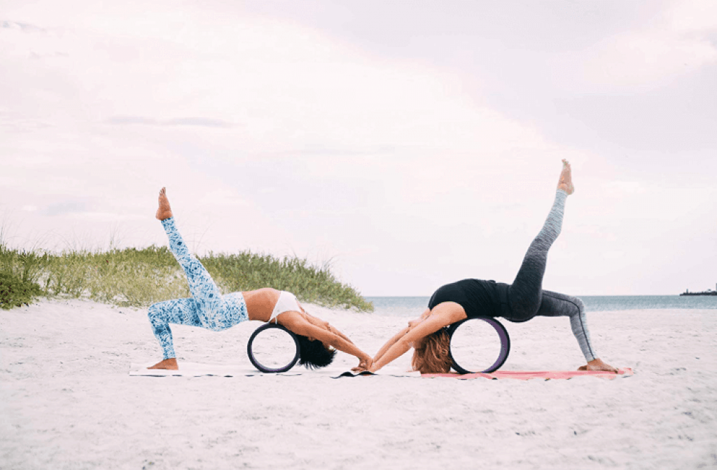 Clever Yoga Wheel -6