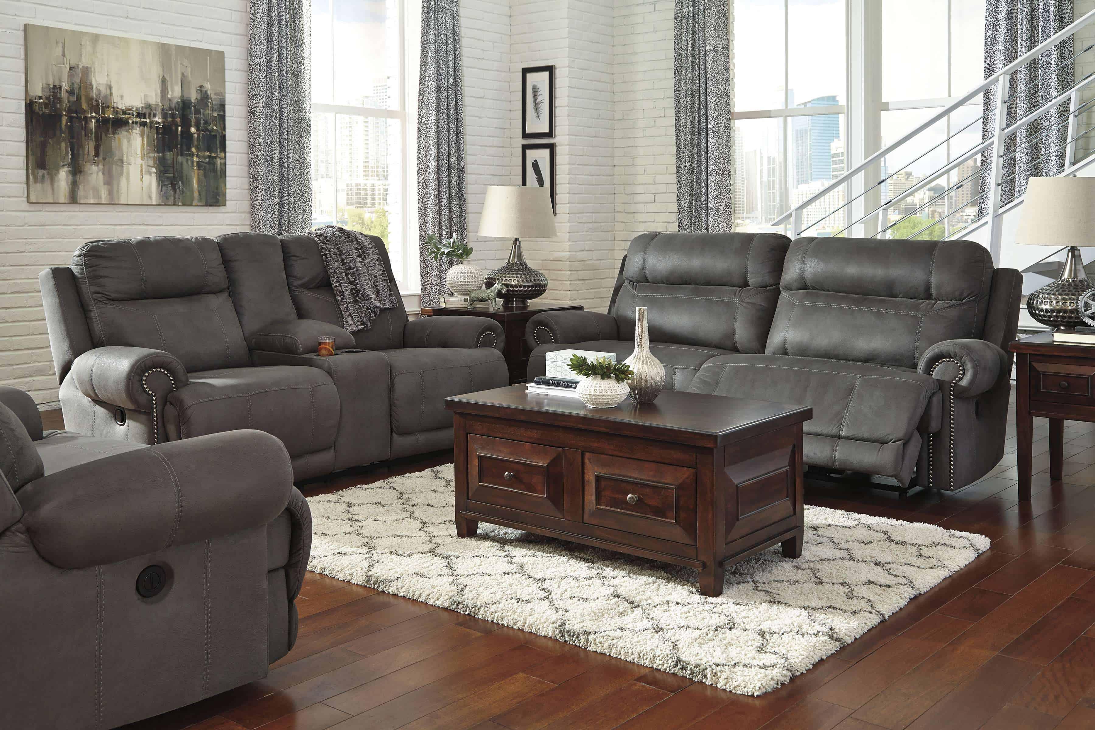 Ashley Furniture Signature Design Austere Power Oversized Recliner -3