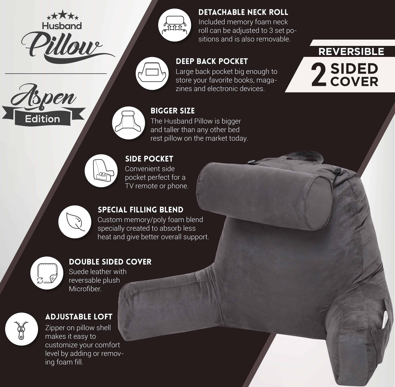 Husband Pillow Aspen Edition -2