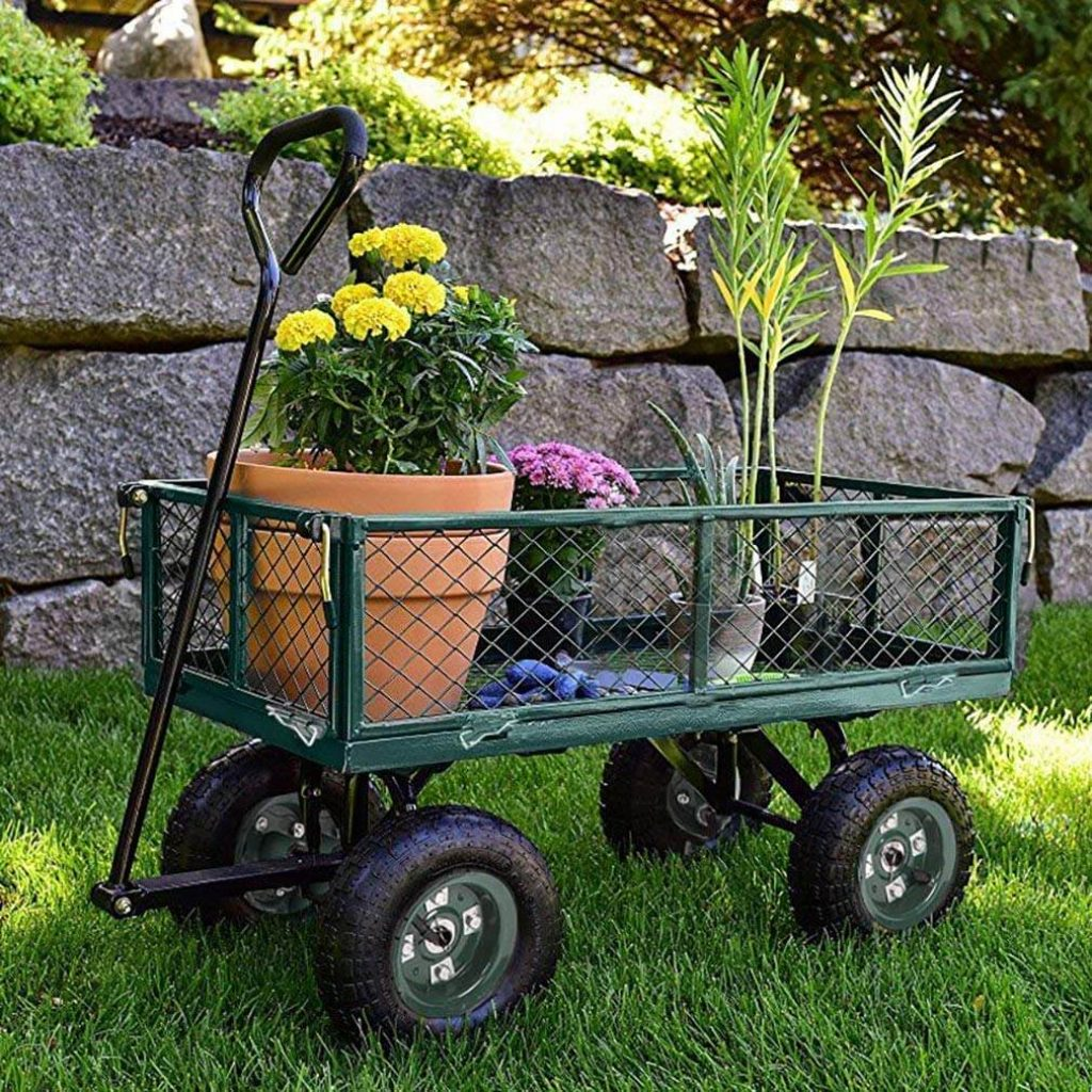 12 Best Garden Carts-1