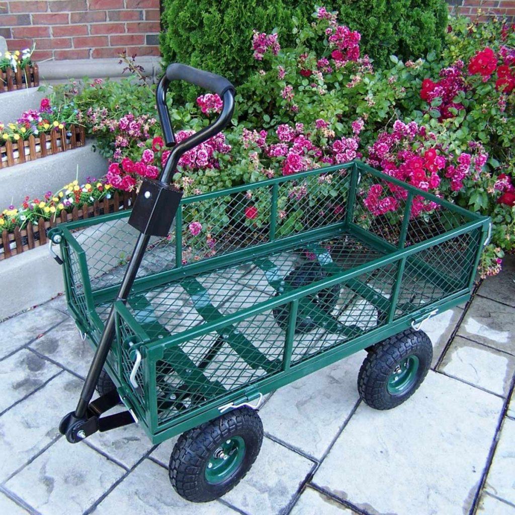 12 Best Garden Carts-2