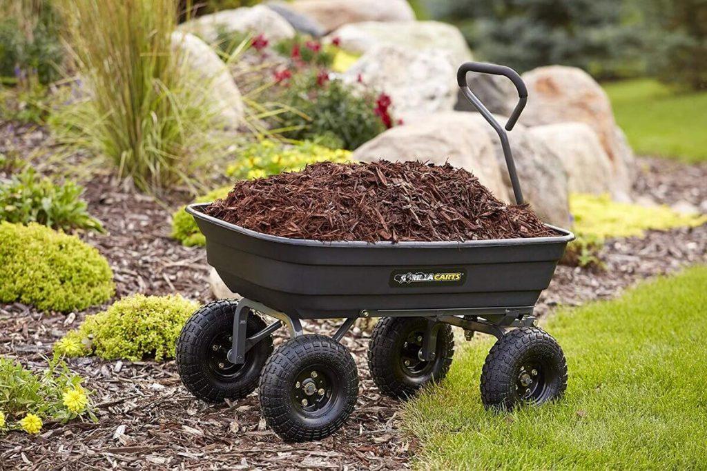 12 Best Garden Carts-4