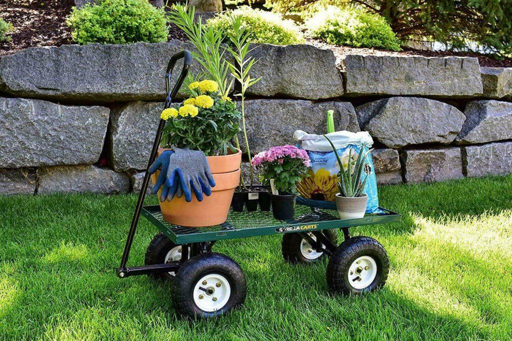 12 Best Garden Carts-6