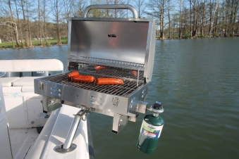 Bunker Up Fishin' Boat Grill