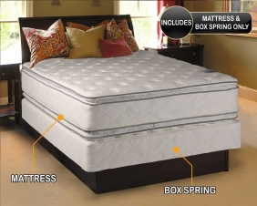 Dream Solutions Mattress and Box Spring Set