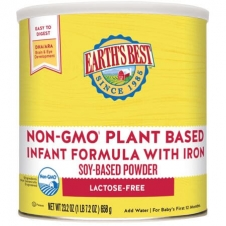 Earth's Best Non-GMO Soy Plant Based Formula