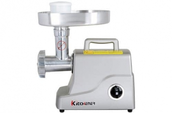 Kitchener Heavy-Duty Electric Meat Grinder