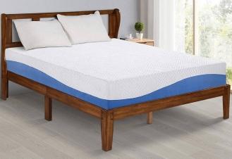 Olee Sleep 10 Inch Gel Infused Layer Memory Foam